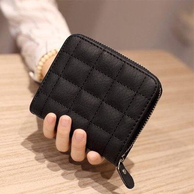 f2420ee3021b Есть варианты новый крутой вместительный стеганный короткий черный кошелек  на молнии