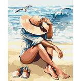 Картина По Номерам идейка. Люди ПОД Пьянящим Солнцем 40 50СМ KHO2698