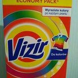 Стиральный порошок Vizir для цветных тканей картон , 4.725 кг, 61 ст