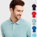 Мужская футболка Поло OSTIN с воротником рубашка