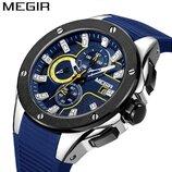Мужские часы Megir 2053 / Гарантия. Мегир Чоловічий годинник
