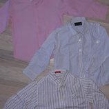 Рубашки идеальн.сост.3-5лет