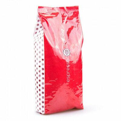 Кофе Espresso Italiano rosso Эспрессо итальяно россо зерно 1 кг. Польша