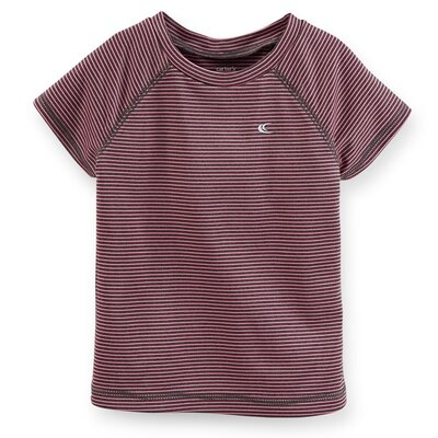 Топ футболка для девочки Carters полоска серия Active
