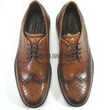 Кожаные туфли броги ecco lisbon оригинал. 39 р.
