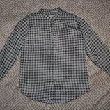 рубашка мальчику Zara на 6 лет рост 116 Англия