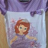Нарядная футболка девочке принцесса София