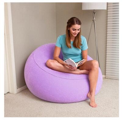 Велюр-Кресло 75052 Bestway. Крісло-Трансформер. Надувное кресло. Надувной круг.