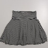 Фирменная трикотажная юбка S