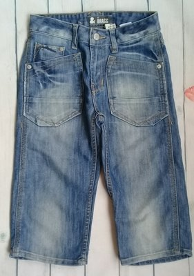Джинсовые шорты на мальчика 9-10 лет H&M