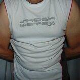 Стильная катоновая футболка Basic.м-л .