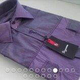 Супер-Цена Рубашка длинный рукавчик, размер S, приталенная, Sigmen, отличного качества