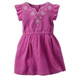 Платье для девочки Carters фиолет