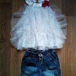 Шорты блузка, футболка, летний костюм