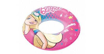 Надувной круг для плавания «Барби»