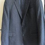 Шикарный красивый шерстяной жакет пиджак 54 Германия