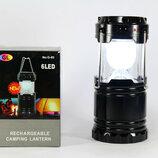 Кемпинговый фонарик фонарь Power Bank солнечная панель