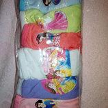 Набор детских трусиков с принцессами на 6- 8 лет.