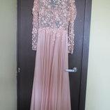 Дизайнерское нарядное платье Elie Saab, р.XS/S