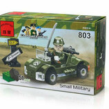 Конструктор Brick 803 Военная машинка 51 деталь