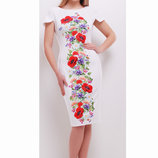 Красивенное платье с полевыми цветами