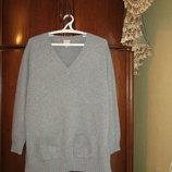Туника-Платье оверсайз Hotel Particulier, 100% натуральный кашемир, размер S/М/L