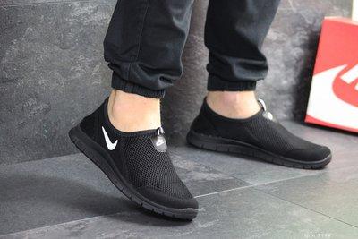 Кроссовки летние Nike Free Run 3.0 черные