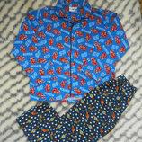 Фланелевая пижама для мальчика Disney