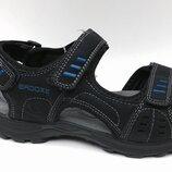 Подростковые сандали для мальчиков, размеры 36-41