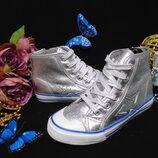 Моднячие утепл.кеды Walkx 35р,ст 22 см.мега выбор обуви и одежды
