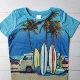 Детская футболка для мальчика с принтом C&A Palomino Германия Размер 110