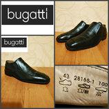 Туфли от bugatti, оригинал, кожа, р. 43