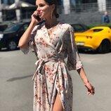 Красивое платье на запах «Агата»
