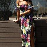 Красивое платье «Мария» 42 - 46 две расцветки