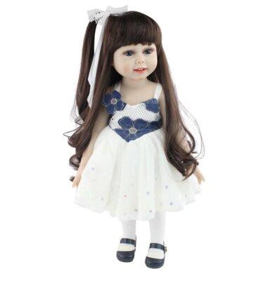 Модная кукла. Реалистичная BJD кукла Reborn. Винил. Ручной работы.