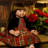 Bebes Reborn Dolls. Реалистичная кукла Reborn. Винил. Ручной работы. 60 см