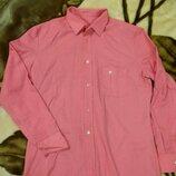 Рубашка розовая новая не носили 50-52р смотреть надо по замерам