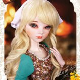 Кукла BJD Disney Золушка. Шарнирная кукла. Высота 60 см. 3D глаза. Ручной работы.