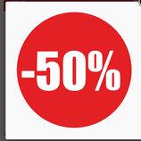 Все платья в магазине 50% скидка