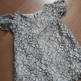 Фирменная блуза для девочки 6-7-8 лет H&M