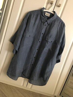 Натуральный шелк, Нежнейшая мужская рубашка сорочка