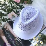 Женская летняя ажурная шляпа челентанка Мегги скл.10 арт.1305