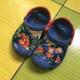 Яркие кроксы сабо crocs crocband c6-7 / 23-24р-р/оригинал