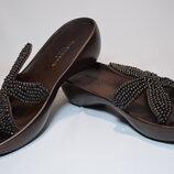 Шлёпанцы Robert Clergerie Paris Beaded босоножки сандалии. Франция. Оригинал. 36-37 р./23.5 см.