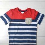 Полосатая футболка для мальчика C&A Palomino Гермнания Размер 116 Оригинал