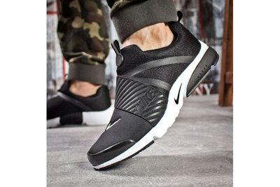 Мужские летние кроссовки слипоны Nike Presto. р.44