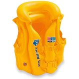 Intex Жилет 58660 Желтый размером 49х46см, от 3 до 6лет