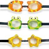 Intex Очки для плавания 55603, 3 цвета, 3-10 лет
