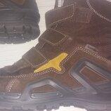 Термо ботинки на мембране SympaTex Ricosta кожаные