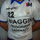 Спортивная фирменная футбольная футболка ретро Walter .Италия .м-л